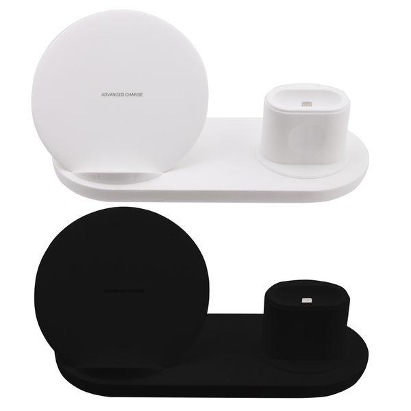 【24期零利率】全新 QI-P09 3IN1 手機/手錶/耳機 QI無線充電座 10W 快充 蘋果手錶