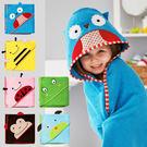 可愛動物系列立體造型連帽浴巾 抱巾 包巾