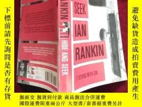二手書博民逛書店英文原版:罕見躲貓貓 Hide and Seek(Ian Ran