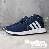 Adidas X_PLR 平民版NMD 深藍 白 情侶 休閒 慢跑 男女 (布魯克林) 2018/7月 CQ2407