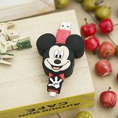 傳輸線 充電線 迪士尼 MICRO USB 米奇 立體伸縮傳輸 MICKEYMOUSE 里和家居 Riho