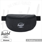 Herschel 腰包 單肩側背包 黑色十字線 Sixteen-2090 得意時袋