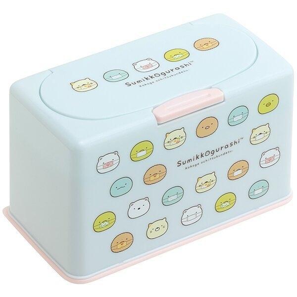 【角落生物 口罩收納盒】角落生物 抽取式 口罩收納盒 面紙盒 收納60片 日本正品 該該貝比