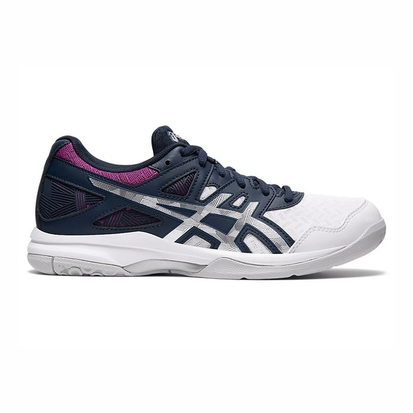 Asics Gel-task 2 [1072A038-403] 女鞋 排球鞋 運動 支撐 透氣 緩衝 亞瑟士 深藍 白
