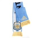 adidas 圍巾 AFA H SCARF Agentina 阿根廷 藍白軍團 Football 足球 藍 白 金 男款 女款 德國製 【PUMP306】 D84300