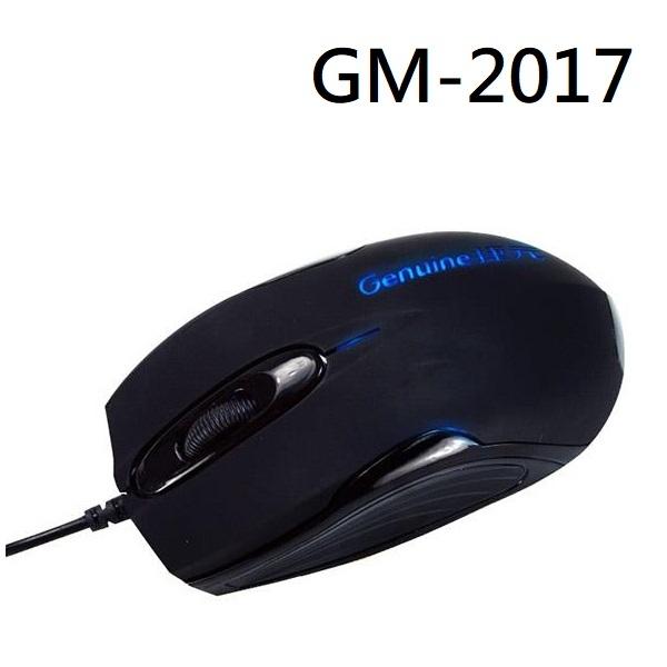 [富廉網]【Genuine】捷元 GM-2017 有線滑鼠