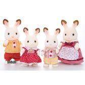 《 森林家族 - 日版 》可可兔家庭組 ╭★ JOYBUS玩具百貨