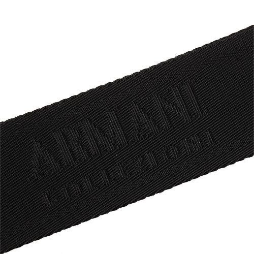 ARMANI COLLEZIONI經典荔枝紋牛革斜背包(黑色)102302