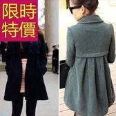 毛呢大衣-典型羊毛隨意商務女外套3色女風衣外套3色61n14[巴黎精品]