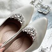 Ann'S奧蘿拉公主皇冠鑽扣鞋扣品牌訂製鞋夾配飾