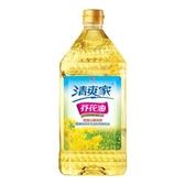 統一清爽家芥花油2L【愛買】