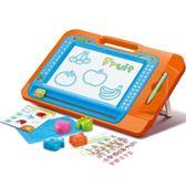 伸縮支架 兒童磁性寫字板 涂鴉板 寶寶繪畫板可擦寫彩色磁性畫板wy