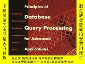 二手書博民逛書店Principles罕見Of Database Query Processing For Advanced App