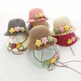 兒童草帽女童帽寶寶太陽帽春夏季帽子沙灘防曬遮陽帽出游公主帽   良品鋪子