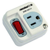 【日象zoueshoai】三孔/一座/雙切 高負載安全壁插 ZOW-S3111 ★刃片絕緣套