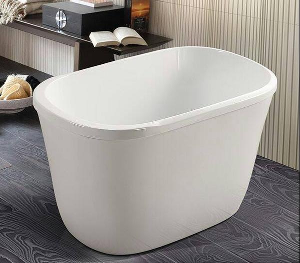 【麗室衛浴】雙層保溫坐式造型獨立壓克力小浴缸 009