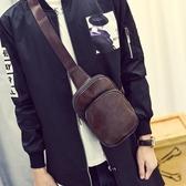 男包斜背包百搭男士個性小背包腰包潮側背包 黛尼時尚精品
