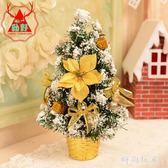 聖誕樹 圣誕節裝飾品 小型圣誕樹套餐 迷你圣誕裝飾品桌面擺件zzy8917『時尚玩家』