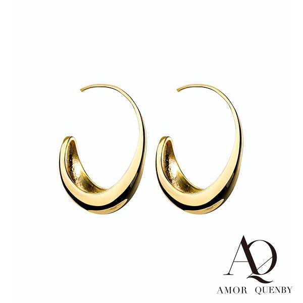 AQ 新款質感冷淡風氣質簡約耳環/耳針 (AMOR Quenby)