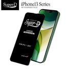 Super-D iPhone13系列 彩色全覆蓋鋼化玻璃膜 全膠帶底板 手機螢幕貼膜 防刮防爆