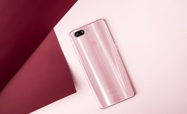 Sugar S11 / 糖果手機 S11 4GB/64GB 6吋 四鏡頭 無邊框 全螢幕 玫瑰金 智慧型手機 / 3期零利率