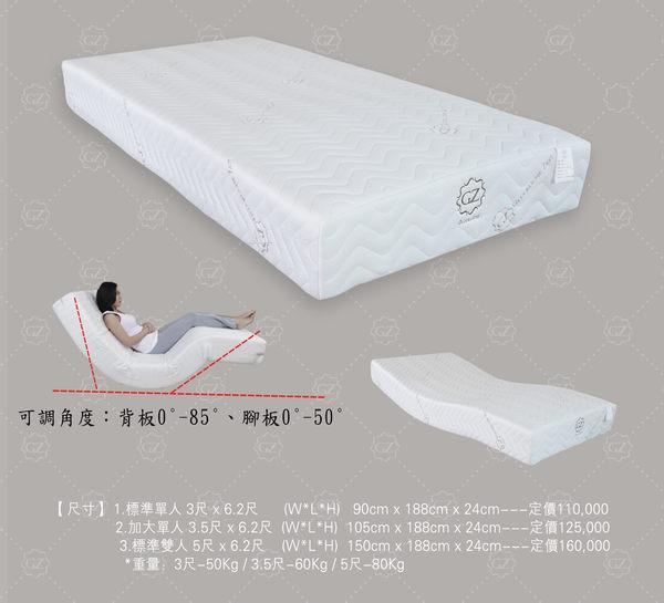 古洛奇電動床墊 GZ-203 標準雙人床-5尺-尊享款