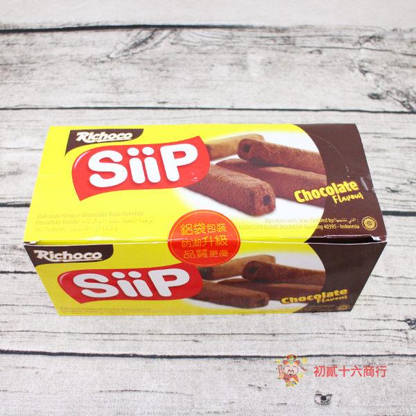 印尼零食瑞奇金磚玉米棒 巧克力口味130g【0216零食團購】8993175531979