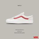 IMPACT Vans Style 36 Old Skool 白 紅 紅線 滑板鞋 GD著用款 VN0A3DZ3OXS