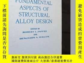 二手書博民逛書店fundamental罕見aspects of structur