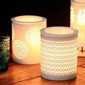 陶瓷插電香薰燈精油爐定時調光熏香機家用養生美容院家居臥室瑜伽