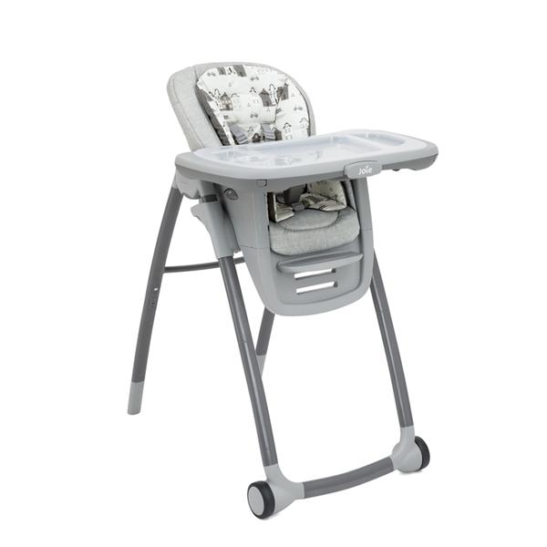奇哥 Joie Multiply 6in1 成長型多用途餐椅(粉柔花漾/小城市)【佳兒園婦幼館】