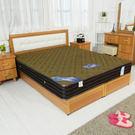 床墊【時尚屋】3.5尺法式3D立體硬式獨...