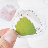 【BlueCat】糖詩飯糰小倉鼠盒裝貼紙