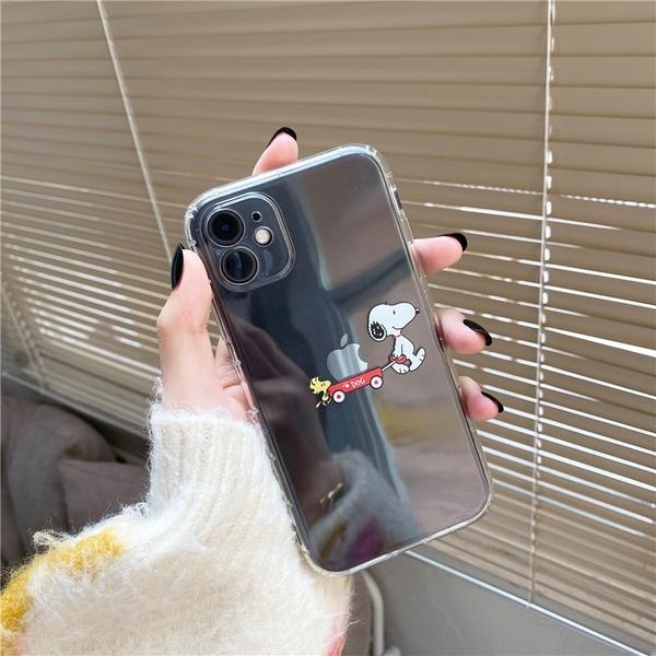 查理布朗史努比畫蘋果 適用 iPhone12Pro 11 Max Mini Xr X Xs 7 8 plus 蘋果手機殼