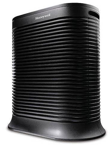 送加強型活性碳濾網2片 Honeywell True HEPA抗敏系列空氣清淨機HPA-202APTW(黑)