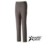 PolarStar 中性 輕便多口袋長褲 釣魚褲│休閒褲│吸濕排汗褲│四向彈性3D立體剪裁『灰』P16417