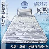 【嘉新名床】厚10公分/ 標準雙人5尺【標準款。日本iCOLD雙倍冰涼床墊 】天然水冷膠安全舒適透氣