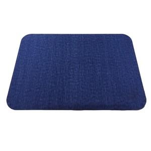 軟式珪藻土吸水地墊 40x60cm 藍色款