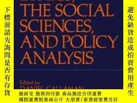 二手書博民逛書店Ethics罕見The Social Sciences And Policy Analysis (the Hast