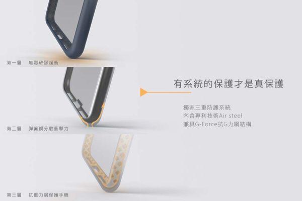 Telephant太樂芬 簡約款抗汙防摔邊框+透明背蓋(iphone7/8系列適用)
