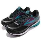 Brooks 慢跑鞋 Ghost 10 GTX Gore-Tex 黑 藍 防水鞋面 女鞋 運動鞋【PUMP306】 1202451B089