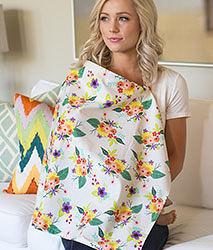 iae創百市集 美國Mothers Lounge Udder Cover 美型哺乳巾/哺乳遮罩-繽紛花束