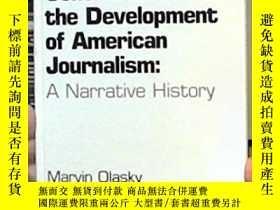 二手書博民逛書店Central罕見Ideas In The Development Of American Journalism奇
