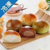 星球冰麵包9個/袋(口味隨機出貨)【愛買冷凍】