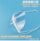 透明口罩餐飲專用透明防唾沫口水飛沫食品衛生餐廳服務員廚師廚房 安妮塔小舖