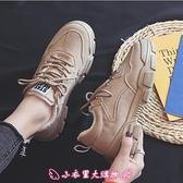 加絨休閒鞋 冬季新款帆布鞋女韓版百搭學生馬丁靴休閒板鞋ins - 小衣里大購物