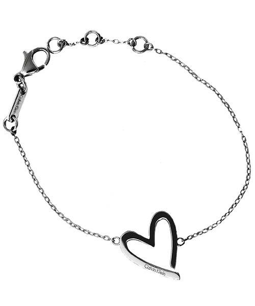 CK Calvin Klein  Joyous 愛心造型手環(KJ2XMB000100)