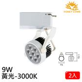 HONEY COMB LED 9W 軌道式燈具 2入一組TK6101-3 黃光