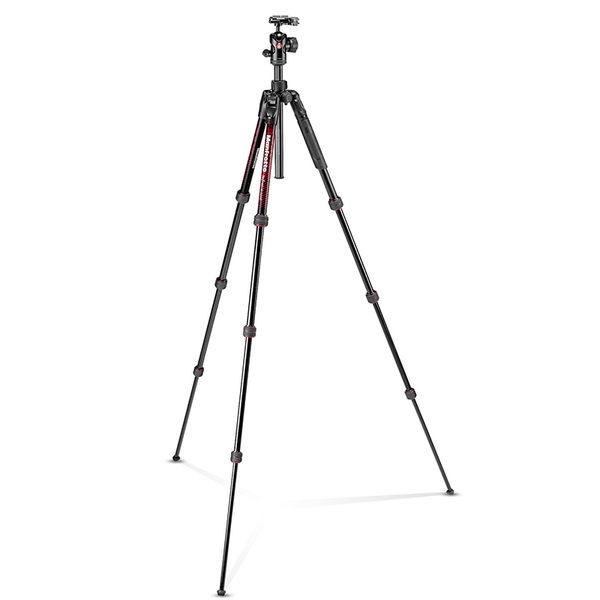 ◎相機專家◎ Manfrotto Befree Advanced 三腳架套組 旋鈕式 紅 MKBFRTA4RD-BH 公司貨