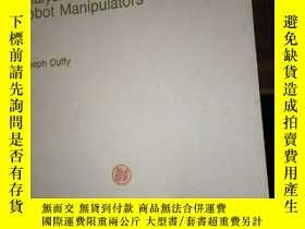 二手書博民逛書店Analysis罕見of Mechanisms and Robo